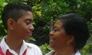 mi hijo y yo